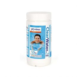 Clearwater PH Minus Decreaser Hot Tub, Spa or Swimming Pool Treatment 1.5 Kg